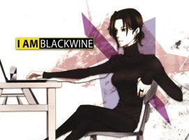 i am blackwine by TRANCE--fusion