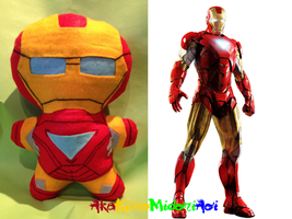 Marvel Plushes: Iron Man (Mark 42) by AkaKiiroMidoriAoi