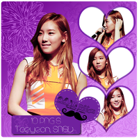 Pack PNG Taeyeon (SNSD) by GAJMEditions