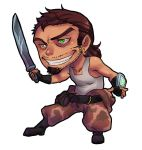 Machete chibi by BloodnSpice