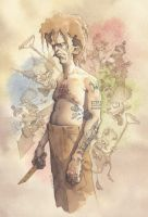 Journey Into The Mind of a Psychopath Killer 2013 by GrisGrimly