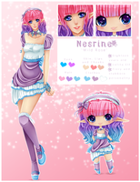 Poll Character: Nesrine - RAFFLE CLOSED by M-3-1