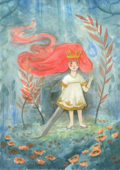 The Child of Light by Gawarin