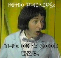 Emo Philips: The only good EMO by Felonious-Butterfly