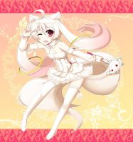 maho shojo kyubey by watercat2