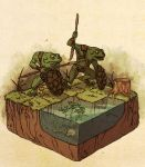Dungeons and Dragons: Bullywugs of the Bog by Deimos-Remus