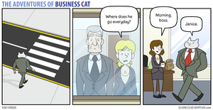 The Adventures of Business Cat - Secrets by tomfonder