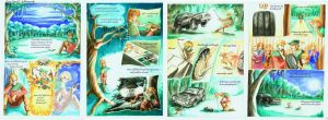 Jabberwocky painted comic by paperclip