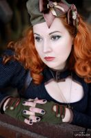 Miss Ginger Steam IIX by MADmoiselleMeli