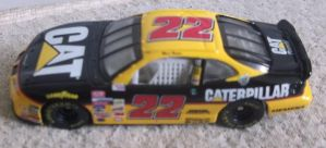 1999 Ward Burton #22 Caterpillar Pontiac car by Chenglor55