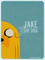 Jake the dog by retro-vertigo