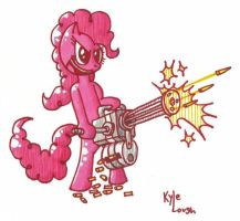 heavy weapons pinkie by secretgoombaman12345