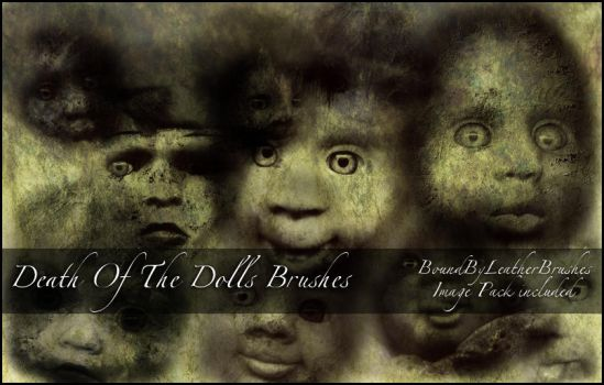 Death Of the Dolls Brushes by Bound-By-Leather