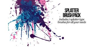 Splatter Photoshop Brushes by OftheCrucified