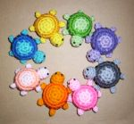 Crocheted Little Turtle Plushies by happysquidmuffin