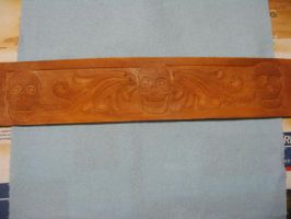 Guitar Strap by FattDaddyLeather