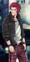 K - Suoh Mikoto ~ by DenCloud