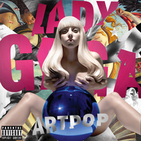 Lady Gaga - ARTPOP (Foil Cover Recreation) by FlamboyantDesigns