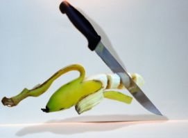 Floating Banana by N-ScapePhotography