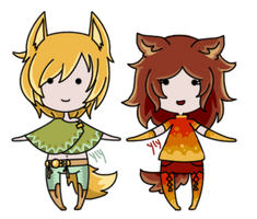[Mini Set - Canine][closed] by Ylyth