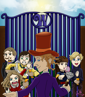 Willy Wonka - The Musical by SonicandShadowfan15