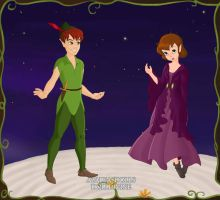 Jane and Peter Pan. by Katharine-Elizabeth