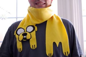 Jake the Dog Scarf by cityoffog