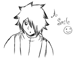 A smile by my-darkness