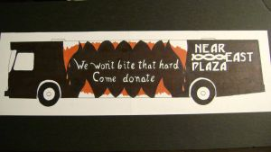Bus ad project by H1ppym4n