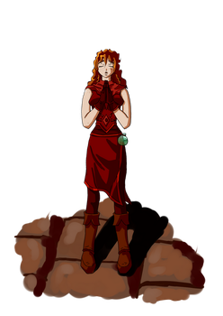 OC: Alanna Leoaud by ArchonofFate