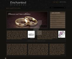 Jewelery Website by Designologer