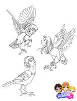 Harpies by Writer-Colorer