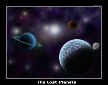 The Lost Planets by jbongo
