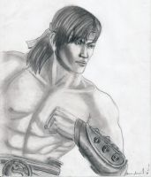 Liu Kang by animelove1234