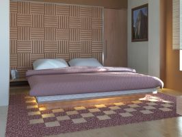 Bed Room _Suku_2 by psd0503