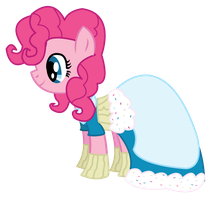 Pinkie at the 2012 Gala by dragonpony