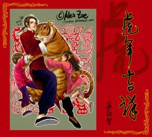 Happy Chinese New Year by alexzoe