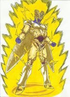 Perfect Cell Golden Form by DBZ2010