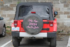 Jeeps are for girls... by 914four