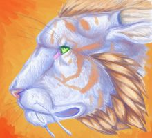 Tiger Dragon Speedpaint - with video by TheSolitarySandpiper