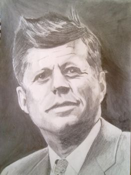 John F. Kennedy by PaoloNormalState