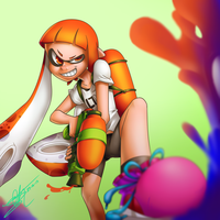 Splatoon by ioshkun
