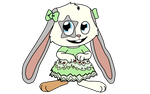 Knuffel Bunny With Dress by SchnuffelKuschel