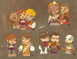 Fable III Chibi Pairings by BeagleTsuin
