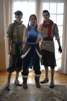 The Legend of Korra Cosplay - Team Photo 2 by Confidenceman047