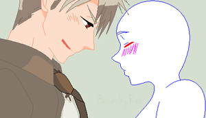 Prussia x OC Base 1 I found my other awesome side~ by MayaHorigome