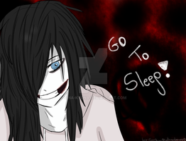 Jeff Says Go to Sleep by GinaKyona