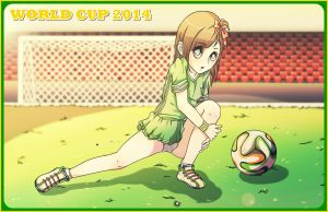 .: ~Goal Desu - World Cup Contest Entry :. by Biiiscoito