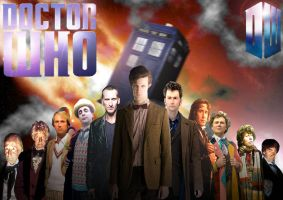 Doctor Who by AndyDaRoo