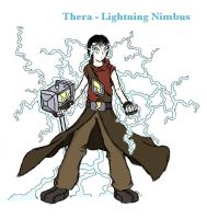 Thera the Lightning Nimbus by Dreamaniacal